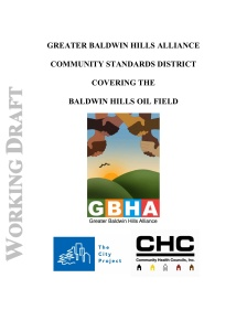 Greater Baldwin Hills Alliance Community Standards District Document