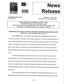 GBHA CSD Press Release of June 19, 2008
