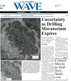 The Wave article about the expiration of the drilling moratorium