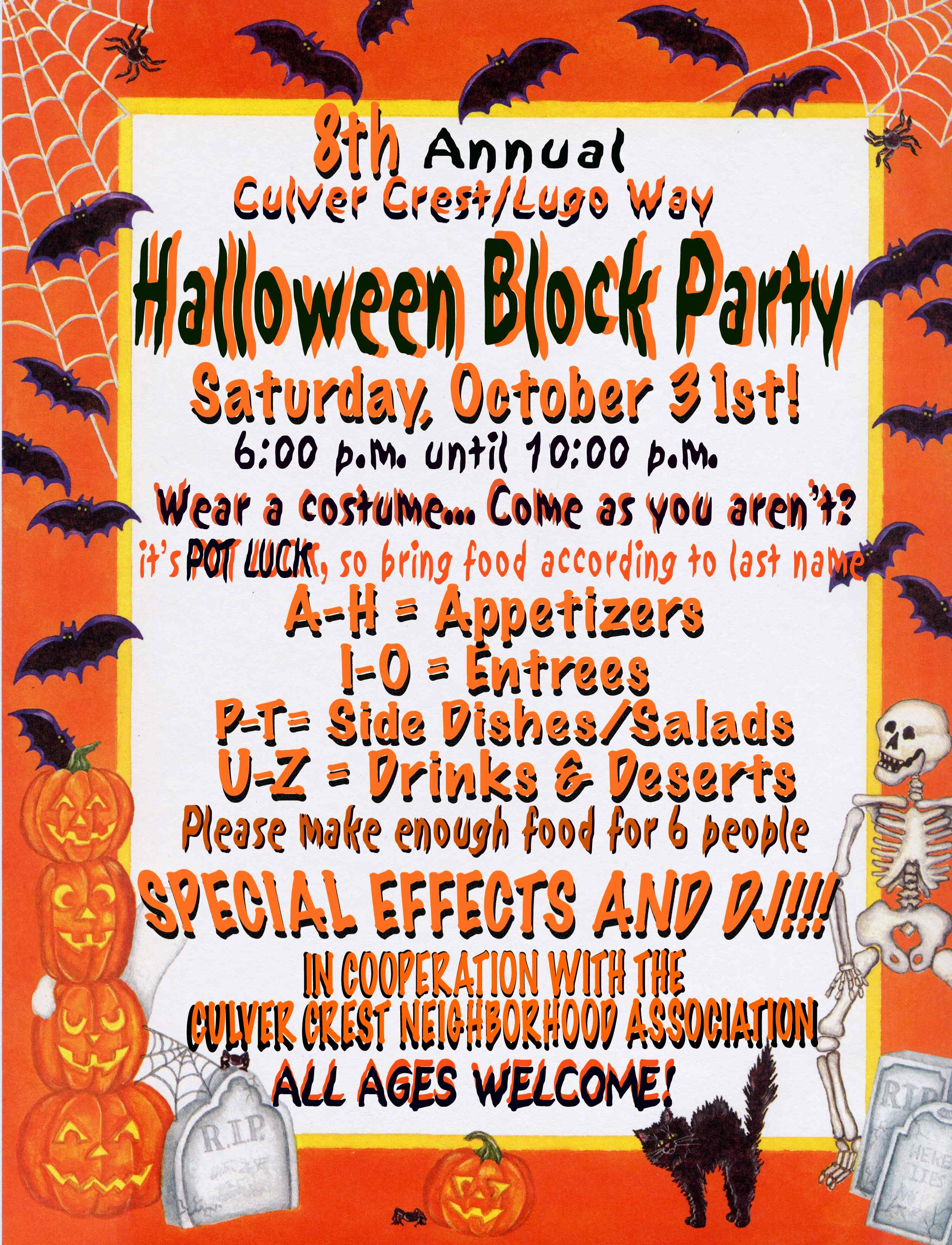 halloween party invitation blank festival collections crafty in