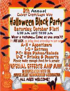 8TH ANNUAL HALLOWEEN INVITEsm